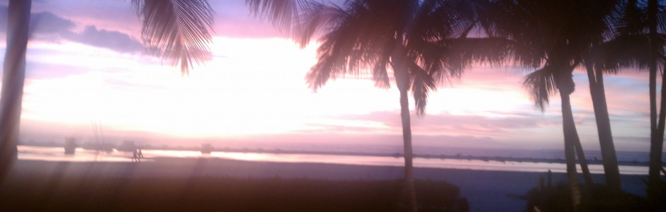 A Beautiful Fort Myers Beach Sunset